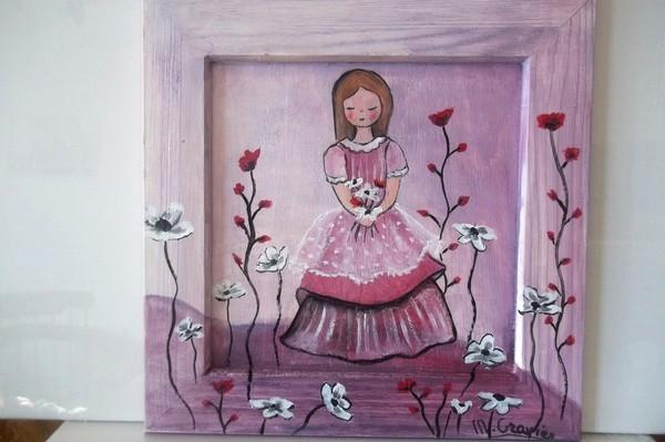 Pour une chambre de petite fille for Modele chambre petite fille