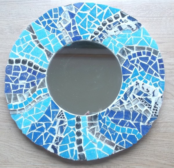 Mosaique for Miroir mosaique rond